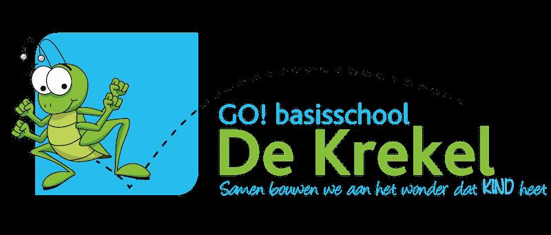 GO! basisschool De Krekel – Haaltert Logo